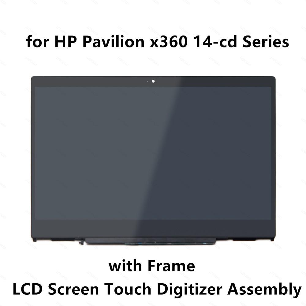 Per HP Pavilion x360 14 cd0003la 14 cd1029la 14 cd0014la 14 cd0007la Display LCD Touch Screen Glass Digitizer Assembly + Frame-in Schermo LCD per laptop da Computer e ufficio su  Gruppo 1