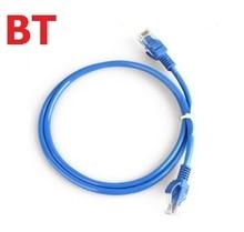 Fio 1 m para m fio de conexão do computador 20 8 núcleo duplo fio de ligação de rede