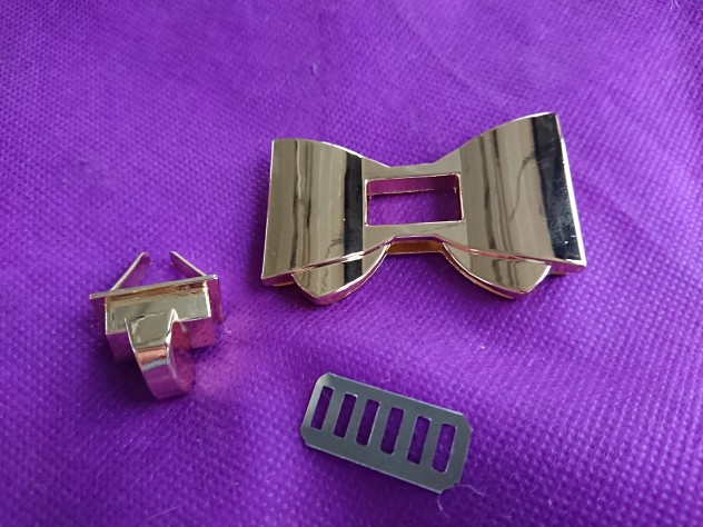 Luxe Designer Bowknot Shape Sluiting Turn Locks Twist Lock DIY Lederen Handtas Tas Hardware Tassen Accessoires Goud THINKENDO photo review