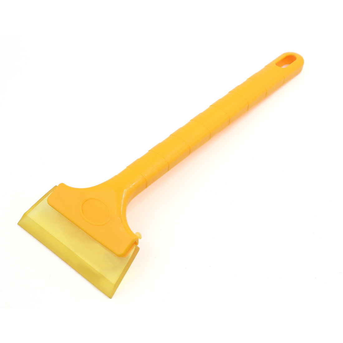 UXCELL 13″ Long Antislip Handle Car Window Film Bubble Cleaner Ice Scraper Orange