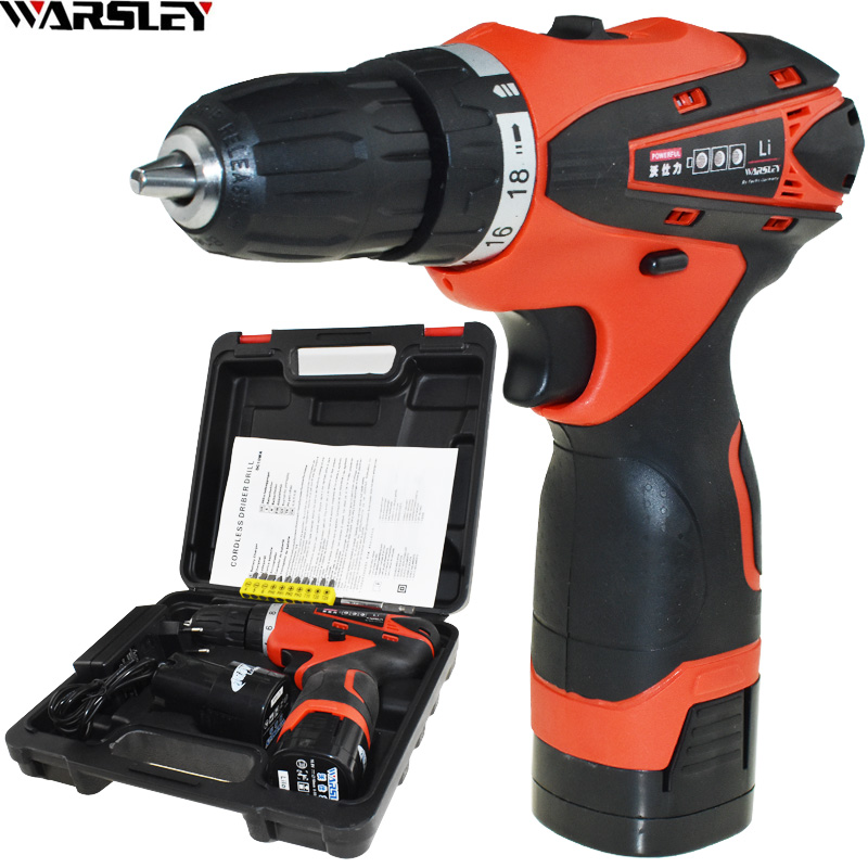 16.8v Power Tools Cordless Drill Electric Drill Screwdriver Electric Like Speed Dremel Mini Drill Eu Plug New Style 2Pcs Battery 30a esc welding plug brushless electric speed control 4v 16v voltage