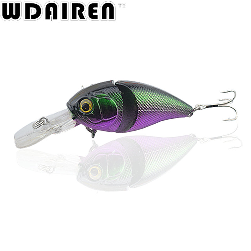 1Pcs 7cm 9.6g Crank Wobbler Floating VIB Fishing Lure Pesca Japan Artificial Hard Bait Lifelike lures Wobbler Crankbait Tackle 1pcs 12cm 14g big wobbler fishing lures sea trolling minnow artificial bait carp peche crankbait pesca jerkbait ye 37