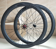 DECA Bike Carbon Road Wheels 700C 50mm Clincher Wheelset UD Matte Finish with Decal