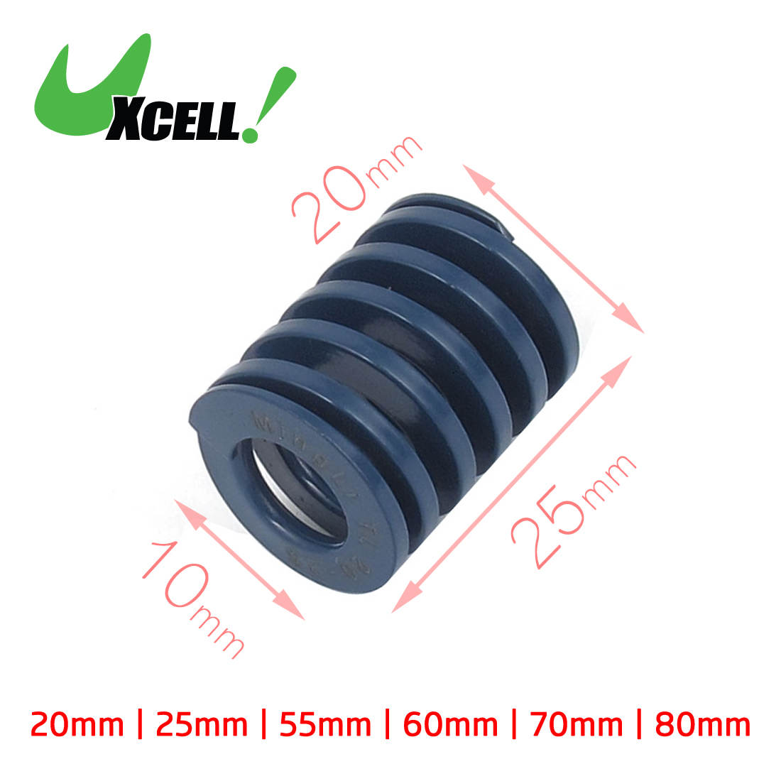 Uxcell Od 18mm Id 9mm Od 20mm Id 10mm Chromium Alloy Steel Light Load Die Blue Spring Length 60mm 70mm 80mm 30mm 80mm x 30mm aluminium flat rectangular bar 80 30mm width 80mm thickness 30mm 6061 t6
