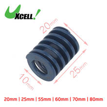 UXCELL 20Mm Od 30Mm Long Coil Light Load Stamping Compression Mold Die Spring Blue