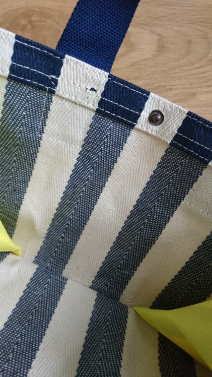 Women Beach Canvas Totes Bag Fashion Stripes Fabric Handbags Ladies Large Shoulder Bag  Casual Bolsa Shopping Grocery Bags photo review