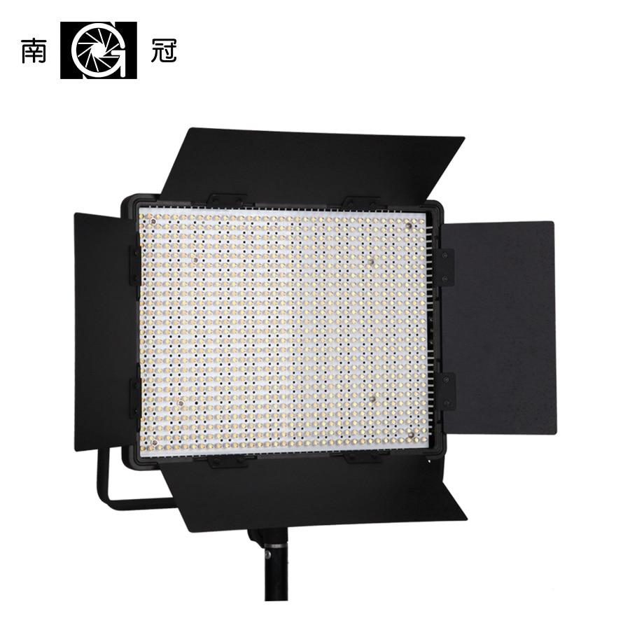 Nanguang CN-900CSA LED 6850 LM 5600K LED Video Studio Light Panel with V Lock Battery Mount NiteCore Extreme Bi Color RA95 CRI95