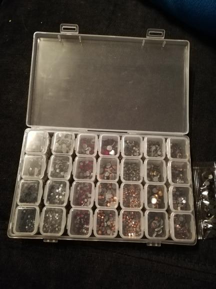 28-Slot Diamond Organizer photo review