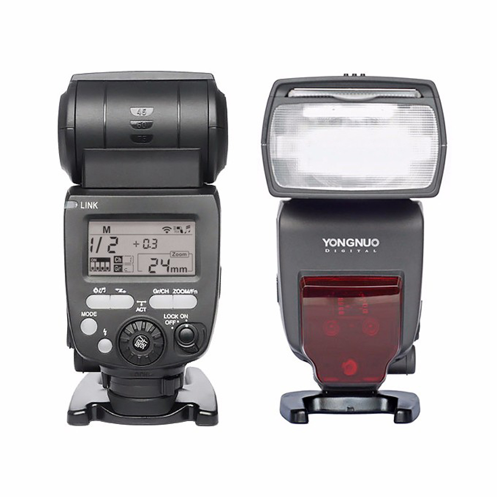 YONGNUO YN660 2.4GHz Flash Speedlite Wireless Transceiver Integrated for Canon Nikon Pentax Olympus DSLR Cameras yongnuo yn720 flash speedlite with yn b2000 lithium battery wireless flash for canon nikon pentax olympus dslr cameras yn602 603