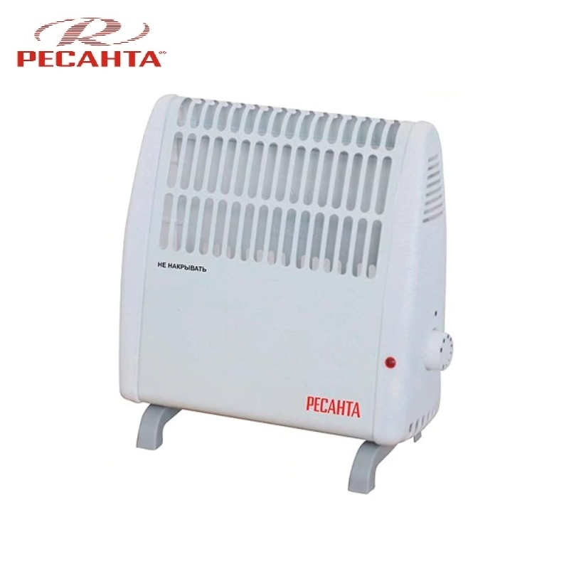 Convector RESANTA OK-500C Heating device Electroconvector Forced convection heater Wall-hung convector Mechanical converter convection heater resanta ok 500c