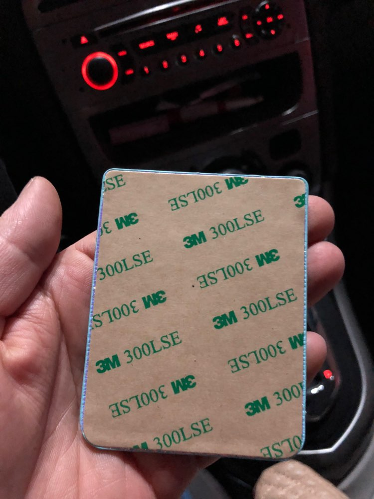 Fashion Mobile Phone ID Card Holder Wallet Credit Pocket Adhesive Sticker photo review