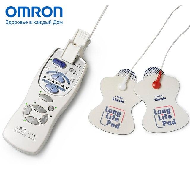 Электромассажер медицинский OMRON E2 ELITE (HV-F127-E), 9 программ стимуляции, Эффект облегчения боли, Доказанная эффективность, Многоразовые пластины, Регулируемая интенсивность