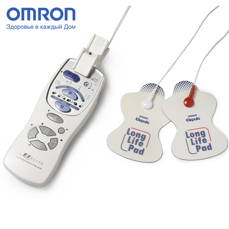 Omron E2 ELITE (HV-F127-E) Electric massager Massage & Relaxation Home Health Care Multifunctional 9 stimulation programs multifunction health care electric body massager machine 4d shiatsu kneading neck shoulder back heating massage pillow car home