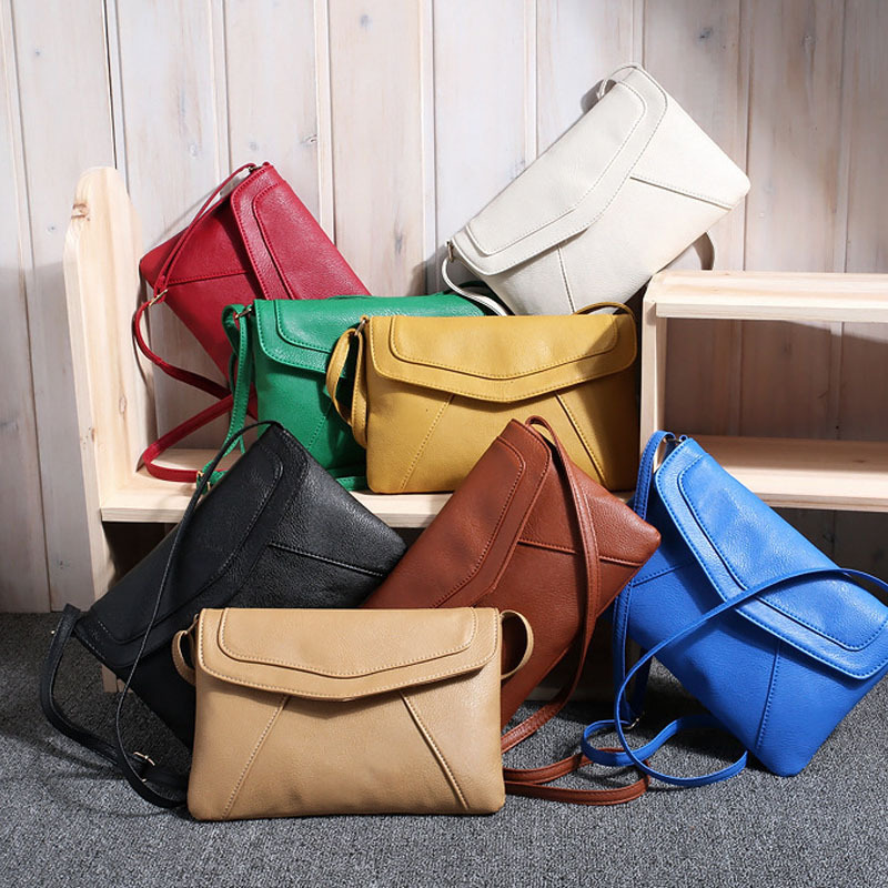 2018 Fashion Women's Handbags Casual Single Shoulder Handbag Lovely Black White Red Women Bag Luxury Leather Women Handbag