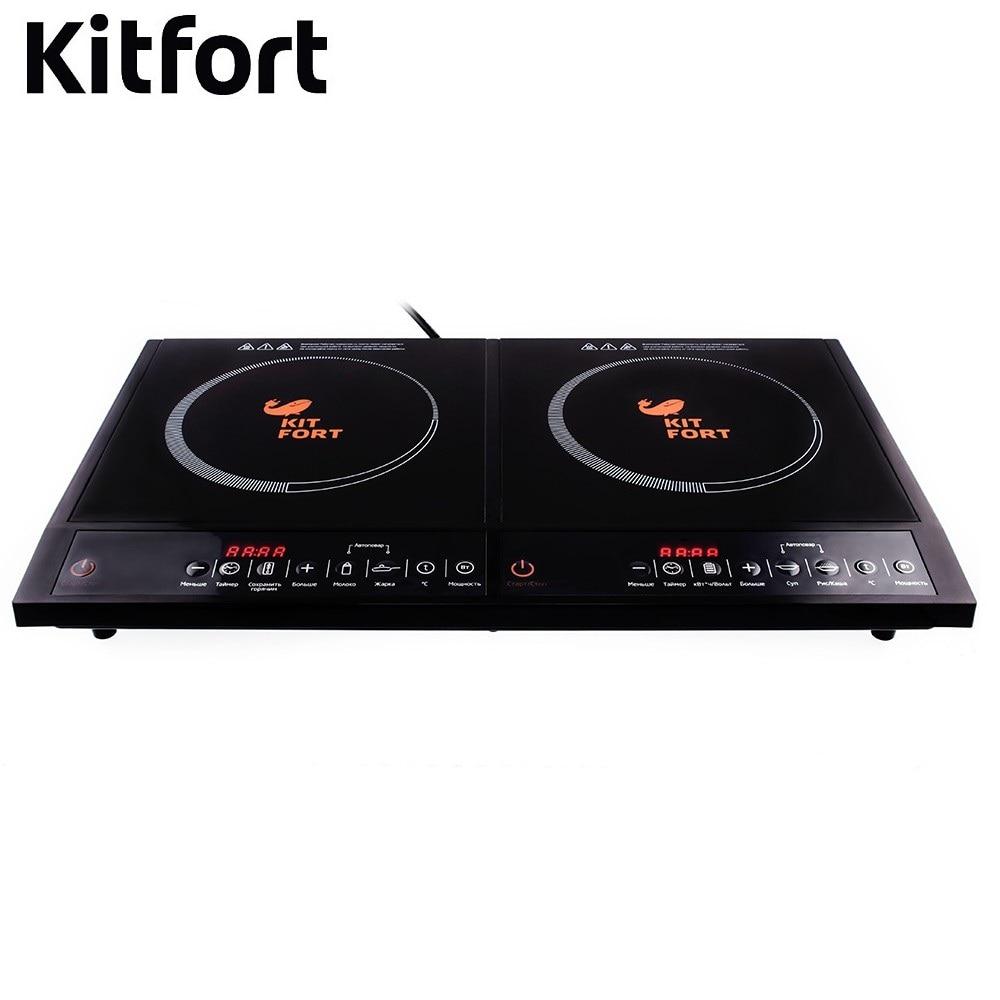 Induction tile Kitfort KT-104 Induction cooker Kitfort Cooking panel Electric Plate Tile electric range Induction tile furnace декор ceramica classic tile water dec 3 40x20