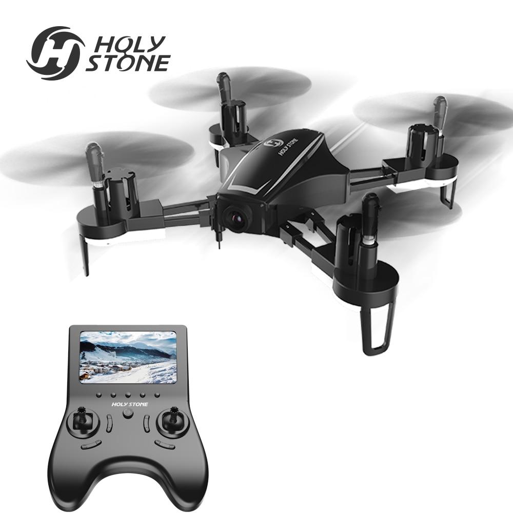 Santo Pietra HS230 Da Corsa FPV 5.8g Wifi Drone con 2MP 720 p HD 120 Grandangolare Della Macchina Fotografica con DISPLAY LCD schermo 45 km/h Ad Alta Velocità Quadcopter