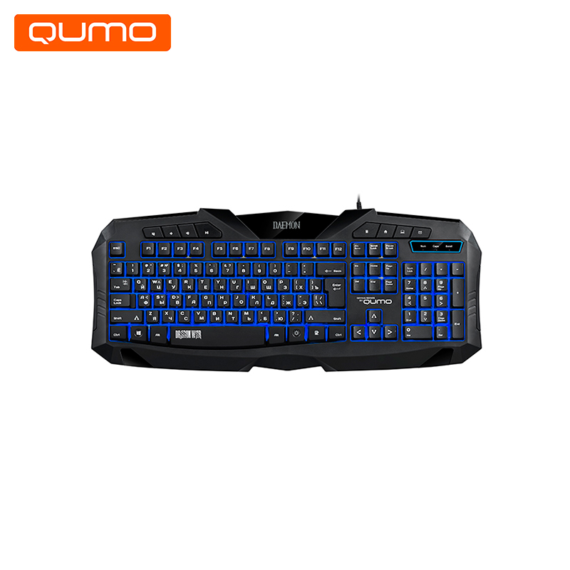 Gaming Keyboard Qumo Daemon K40 gaming headset qumo champion ghs 0001