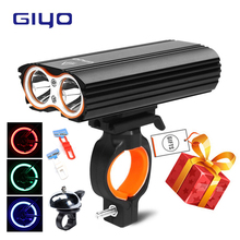 Bicycle T6 Highlight Light 2400 Lumens 4 Mode USB Charging Bike 360 Degrees Rotatable Waterproof IP-65 Aluminum Alloy Lamp