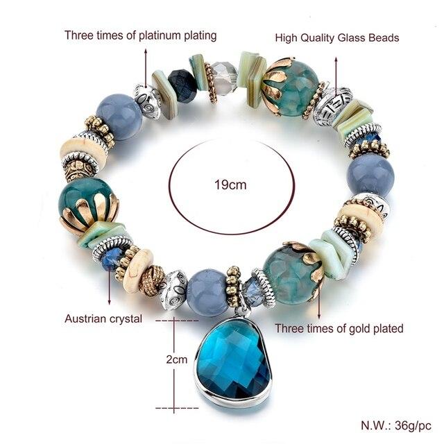 Купить chicvie голубые браслеты из нержавеющей стали для самостоятельного картинки