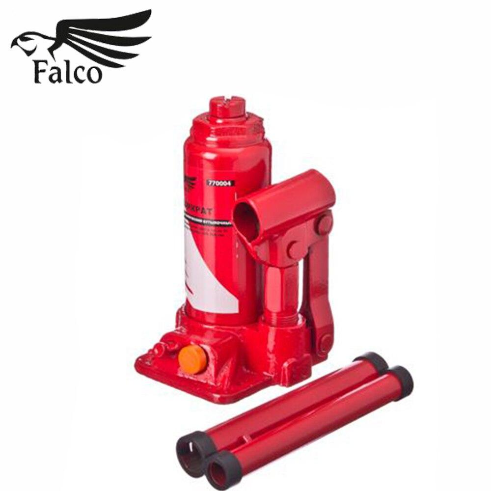 JACK DOMKRAT FALCO bouteille hydraulique 3 t dans le boîtier hauteur de levage 158-308mm couteaux haute qualité discount couteau de vente 770-073