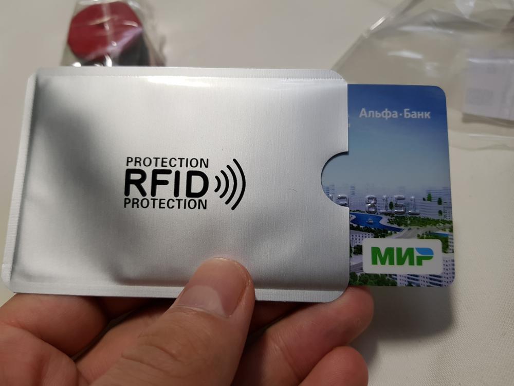 Aluminiumfolie Anti - Degaussing Bankkaart Cover Creditcardbeschermer Diefstal Identiteitskaart Cover Beschermhoes photo review