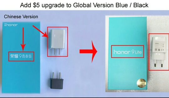 "Huawei Honor 9 Lite Global Version 5.65"" Full View Screen 2160*1080Pix  Smartphone Octa Core 4 Cameras 13MP mobile phone"
