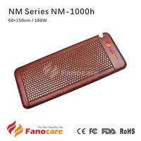 Wellness Nano Ceramic Hexagon Tourmaline Stone Accupressure Mattress