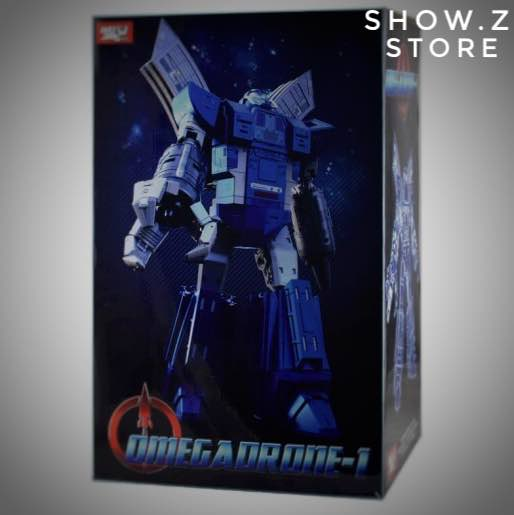 [Show.Z Store] Weijiang WJ Ultima Guard Omegadrone-1 Omega Supreme Blue Limited Version Transformation Action Figure цены