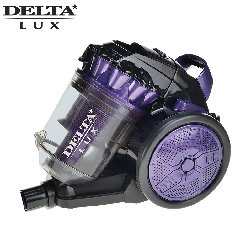 DL-0830 Vacuum Cleaner 2000W Multi Cyclone System Low noise level Airflow regulator on handle DELTA rehabilitation physiotherapy low level laser therapy equipment healthcare supplies