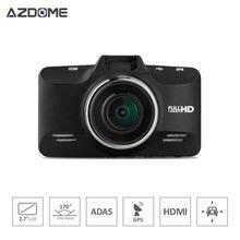 """Azdome GS98C A7la70 Coche DVR de Ambarella 2.7 """"lcd 170 Grados FHD 1080 P 60fps Cámara Grabadora de Vídeo Con el g-sensor Dash Cam HDR H30"""