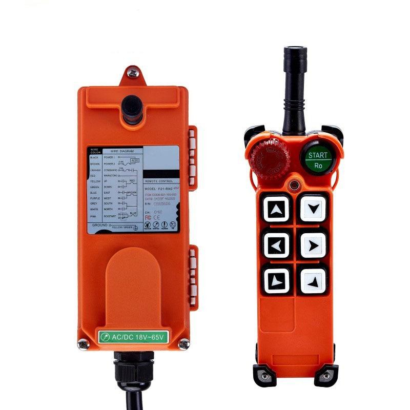 Original TELECRANE Wireless Industrial Remote Controller Electric Hoist Remote Control 1 Transmitter 1 Receiver F21 E1