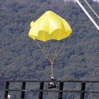 Opgewaardeerd 4 KG Parachute Ejectie Paraplu Voor FPV RC Vliegtuig Drone Outdoor Vliegende Schieten