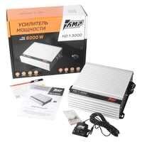 AMP HD 1.3000 Car Amplifiers 3000W Mono Channel High Power Subwoofer Bass Smart HiFi Audio Amplifier for Vehicle Loudspeaker