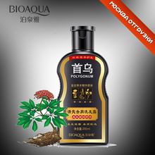 200ml polygonum multiflorum anti dandruff nourishing ufa raise hair Radix polygoni multiflori dandruff  shampoo