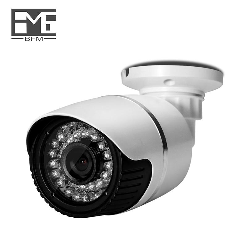 BFMore IP Камера 3,6 мм 1080 P 960 720 P POE Alerta de e mail Videcam видеонаблюдение Водонепроницаемый проводные сети P2P