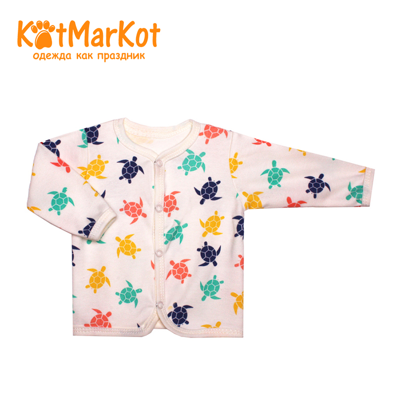 где купить Blouse Kotmarkot 7231 children clothing cotton for babies kid clothes дешево