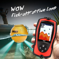 Lucky FF1108 1CWLA Single Beam Wireless Fish Finder With Flashlight Camera 147m 45ftSensitive Anti Clutter Attractive
