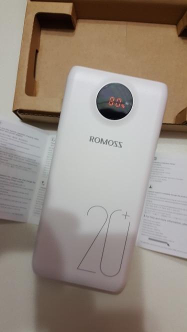 Внешний аккумулятор Romoss SW20 Pro 20000 мАч