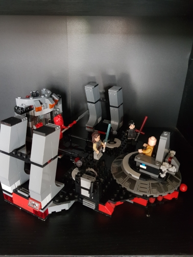 LEPIN 05148 Star Wars Snoke`s Throne Room Block Set (428Pcs) photo review