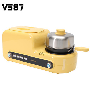 Wide Slot Kitchen Electric 2 Slices Bread Toaster Oven Eggs Sandwich Breakfast Maker Household Cooking Tools Baking Pan Тостер