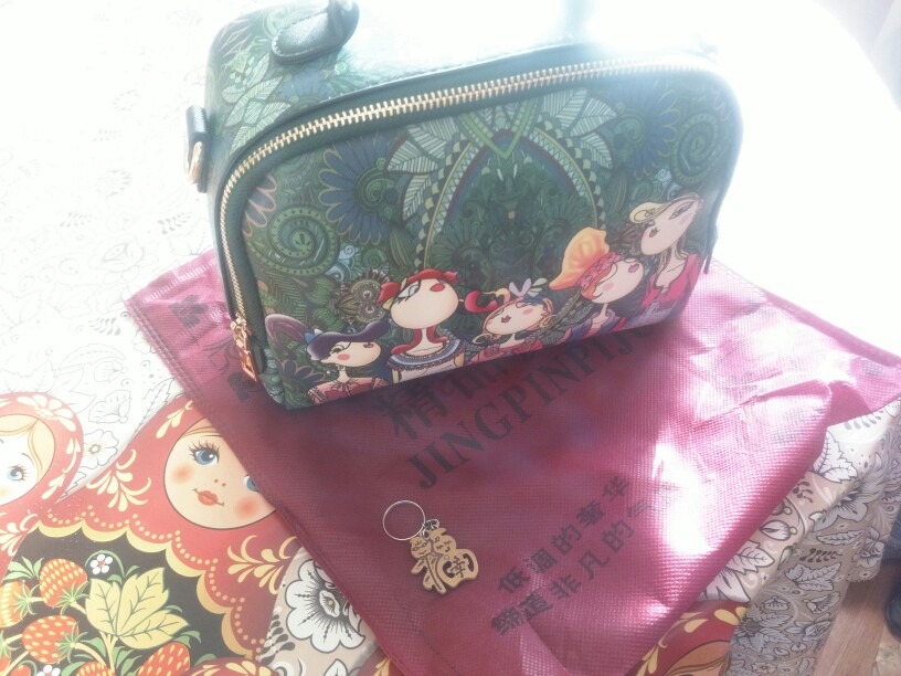 Luxury Brand Crossbody Green Flap Bags for Women Bags Forest Designer Leather Handbag Ladies Hand Bag Sac A Main Femme De Marque photo review