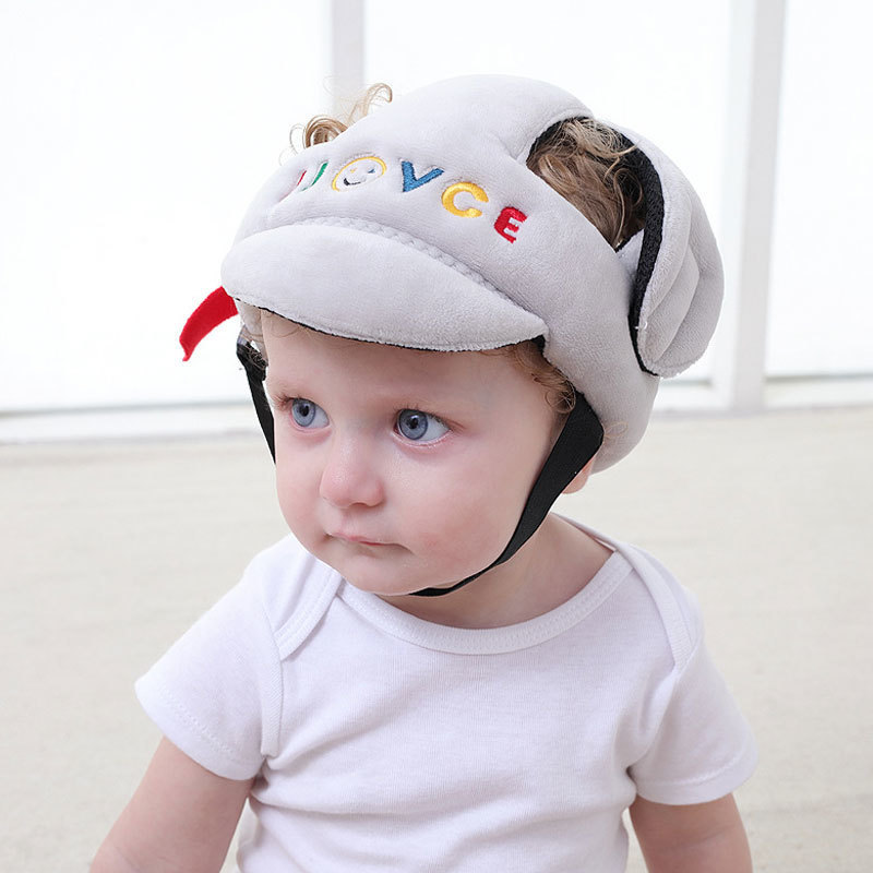 Pillow Case Hearty Baby Anti-fall Toddler Headgear Breathable Baby Child Walking Learning Head Protection Pad Headrest Against Back Falling Hats Su Mother & Kids