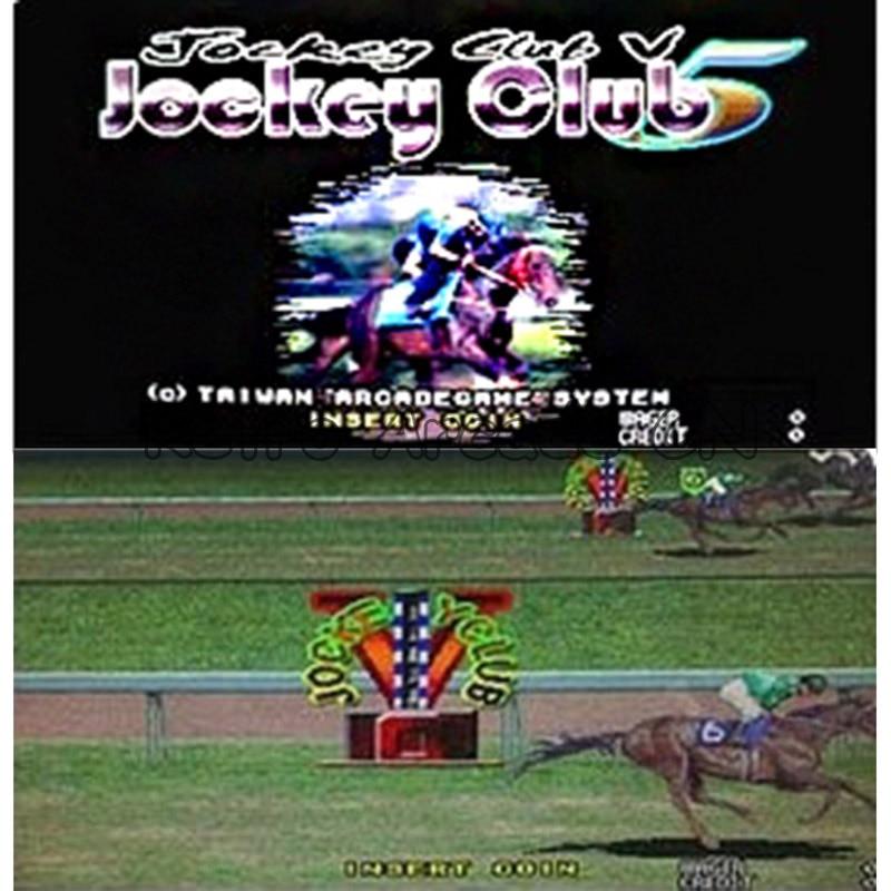 Скачки игровая доска для казино Jockey Club 5 игровая доска с 2 клавиатура для слота аркадная игра машины автоматы Кабинет