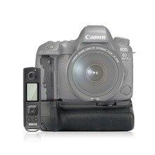 Meike MK 6DII Pro Batterie Griff Eingebaute 2,4G Fernbedienung für Canon 6D Mark II Als BG E21