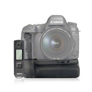 Image 1 - Meike MK 6DII Pro Batterie Griff Eingebaute 2,4G Fernbedienung für Canon 6D Mark II Als BG E21