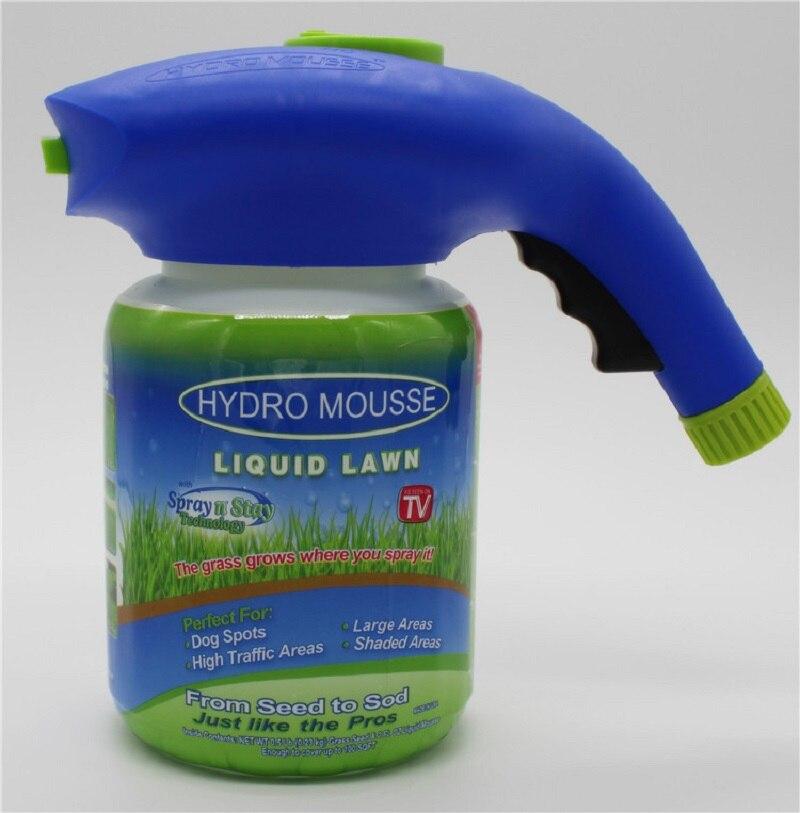 Hydro Mousse Spritzpistole Flüssigkeit Rasensamen Sprinkler Bewässerung Können Schnell Und Einfach Spritzen Mit Wachstum Substanz Koch Werkzeug-sets