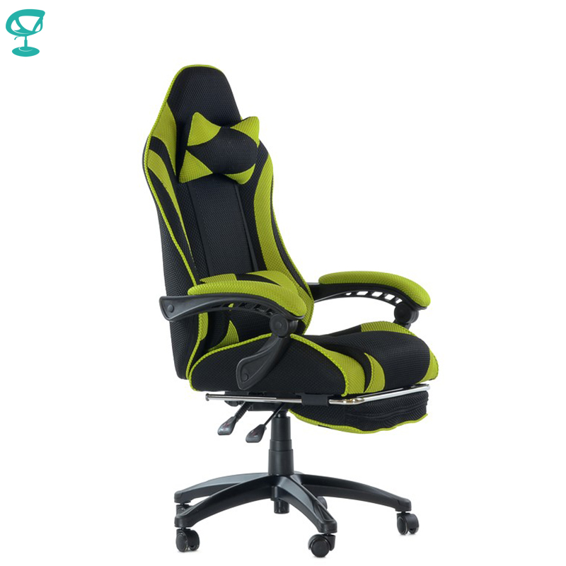95266 Barneo K-40 Black Light Green Gaming Chair Computer Chair Mesh Fabric High Back Plastic Armrests Free Shipping In Russia