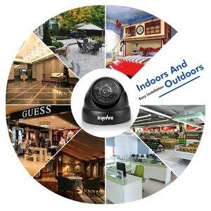 Image 4 - SANNCE 900TVL 3.6mm אנלוגי כיפת מצלמה ראיית לילה מקורה חיצוני עמיד IP66 IR מסנן אבטחת CCTV מערכת מצלמה