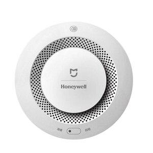 Image 3 - Xiaomi Mijia Honeywell Rauch feuer sensor Alarm Detektor Akustischer optischer Rauch Sensor Fernbedienung Mi Hause Smart APP Control