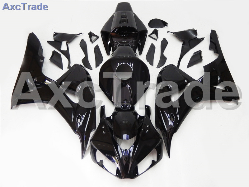 Motorcycle Fairings For Honda CBR1000RR CBR1000 CBR 1000 RR 2006 2007 06 07 ABS Plastic Injection Fairing Kit Bodywork Black injection mold fairing for honda cbr1000rr cbr 1000 rr 2006 2007 cbr 1000rr 06 07 motorcycle fairings kit bodywork black paint